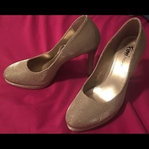 🌵Fioni Night champagne colored heels